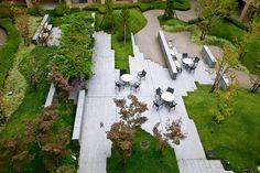 encosed garden at Sun City Takarazuka