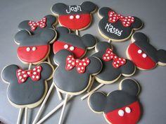 Mickey Mouse/minnie Mouse - Click image to find more Food & Drink Pinterest pins
