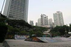 Image result for downtown skatepark Skate Park, Singapore, Skyscraper, Multi Story Building, Indoor, Exterior, Urban, Architecture, City