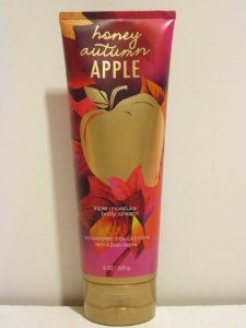 Bath and Body Works Honey Autumn Apple Triple Moisture Bod Cream 8 Oz New for 2012 by Bath & Body Works. $19.95. a blend of crisp red apples, sparkling nectarine and a touch of honey. new for fall 2012 8 oz body cream