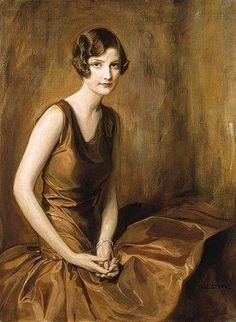 Art ~ Portrait of a young woman, Tadeusz Styka, 1930 Female Portrait, Portrait Art, Female Art, Woman Painting, Figure Painting, Painting & Drawing, Illustration Art, Illustrations, Harlem Renaissance