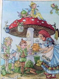 'Fairy Tea Party'  Majorie Dawson