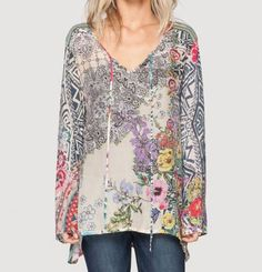Can't go wrong with this tunic, amazing colors.