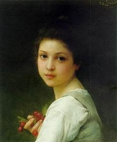 Portrait of a Young Girl, Lenoir Charles Amable