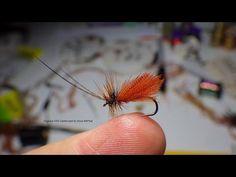 Tying the Organza CDC Caddis by Davie McPhail - YouTube