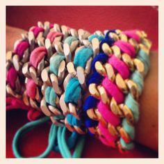 Joannie colorful bracelets