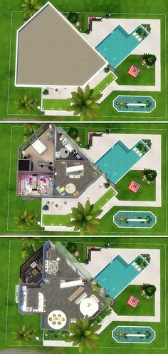 Casa moderna - The Sims 4 - Download - Modern house