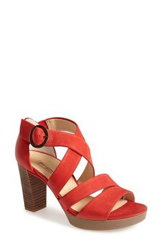 Paul Green 'Taylor' Leather Sandal (Women) available at #Nordstrom