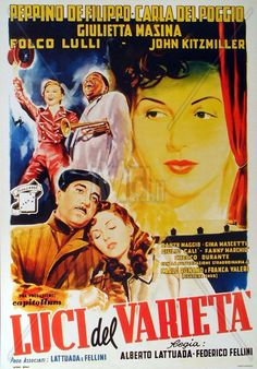 LUCI DEL VARIETA (1950) Criterion + _________________________ https://en.wikipedia.org/wiki/Variety_Lights https://www.criterion.com/current/posts/84-variety-lights
