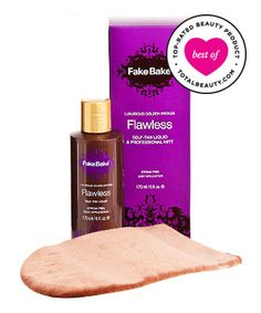 Best Self-Tanner No. 2: Fake Bake Flawless Self-Tan Liquid + Professional Mitt, $26.50