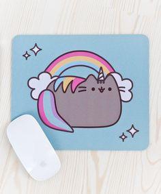 Pusheenicorn mouse pad