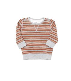 Baby Clint Stripe Crew - New In - Browse - baby boys | Peek Kids Clothing