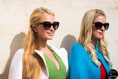 #New on #STYLEDUMONDE  http://www.styledumonde.com/  with @parishilton @nickyhilton #ParisHilton #NickyHilton at #paris #fashionweek #pfw #ss15 #outfit #ootd #streetstyle #streetfashion #streetchic #snobshots #streetlook #fashion #mode #style
