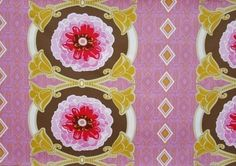 Drawing room fabric from Anna Maria Horner
