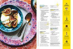 Bon Appetit editorial design inspiration spread