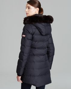 HUNTER Three Quarter Quilted Sport Parka | Bloomingdale's
