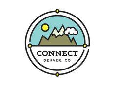 Logo by Jared Hill. Elegant, Colourful Logos