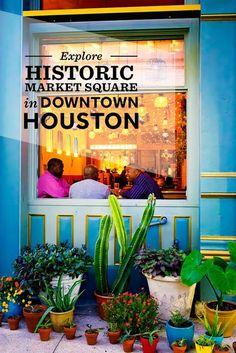 Explore Historic Market Square in Downtown Houston