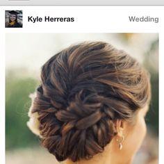 Wedding hair style 2