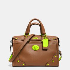 C.O.A.C.H. Rhyder 24 Satchel in Calf Leather. Sorry, sorta obsessed with this bag.