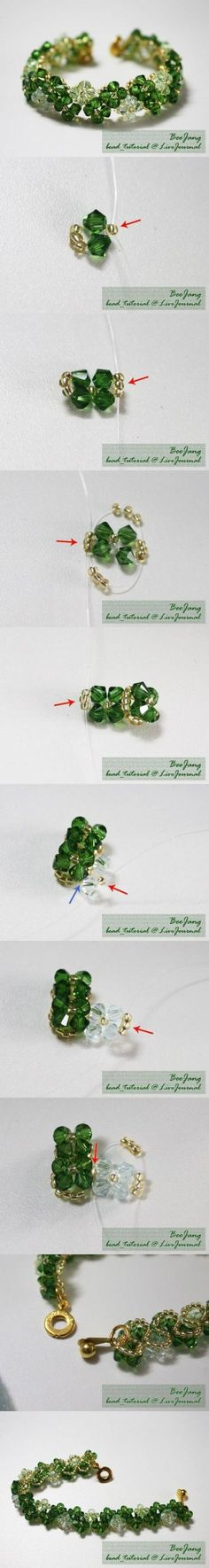 DIY Transparent Beads Bracelet DIY Projects