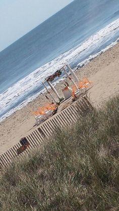 Ocean City Maryland Beach Wedding Barefootbrideoc Tropical Decor With Orange