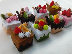felt cakes // tartas de fieltro