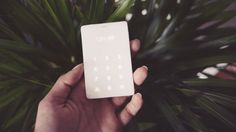Light is raising funds for The Light Phone on Kickstarter! A credit card-sized cell phone designed to be used as little as possible. The Light Phone is your phone away from phone. Gadgets And Gizmos, Cool Gadgets, Tech Gadgets, Minimalist Phone, Real Phone, Smartphone, Simple Mobile, Cool Technology, Card Sizes