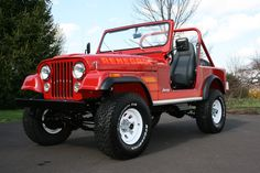 Awesome Restoration    84' Sebring Red CJ-7 Project - Page 18 - JeepsUnlimited.com Forums