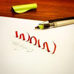 3d calligraphie et le lettrage de Tolga Girgin - 30