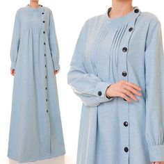 nice Brown Beige Cotton Linen Long Sleeved Abaya Maxi Dress- Plus Size Maxi Outfits, Hijab Outfit, Abaya Fashion, Muslim Fashion, Fashion Dresses, Long Sleeve Shirt Dress, Maxi Dress With Sleeves, Dress Long, Plus Size Maxi Dresses