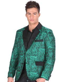 34131 Saco De Hombre 'El General', 100% Polyester - Green