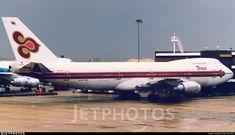 Thai Airways, Air Photo, Boeing 747 200, Air Lines, Flight Deck, Photo Online, Photographs, Photos, Aviation