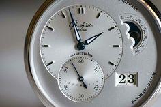 Glashutte Original, Monochrome Watches, Specs, Dress Watches, Clock, The Originals, Unique Jewelry, Metal, Times