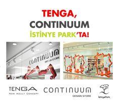 TENGA Continuum İstinye Park'ta!