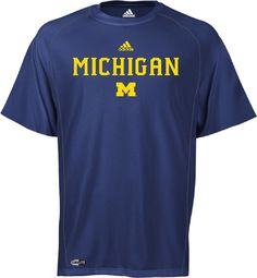 Adidas Michigan Wolverines Climalite Sidelines Top $27.95
