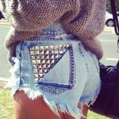 DIY shorts :)