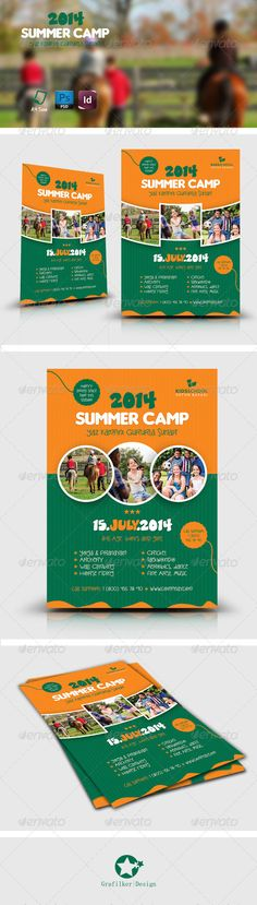 camp brochure template - 1000 images about summer camp marketing ideas on