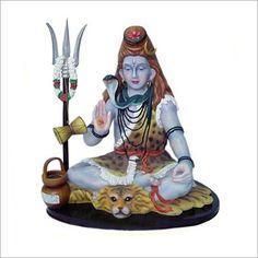 Lord Shiva Statues.