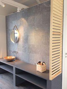 Luonnonkivilaattaa messupaviljongissamme. #asuntomessut #asuntomessut2014 Bathroom, Decor, Lighted Bathroom Mirror, Furniture, Home, Mirror, Bathroom Lighting, Bathroom Mirror, Home Decor