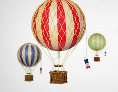 Love these hot air balloons