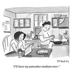 its the weekend find someone to make you some #pancakes #brooklyncartoons #cartoons