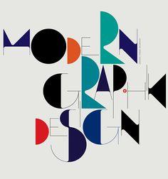 Modern Graphic Design Typography