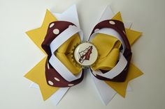Florida State Seminoles Inspired Bow