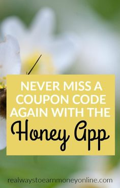 Need to start saving money? Use the crazy popular Honey app so you never miss out on a good coupon code while you are shopping online.