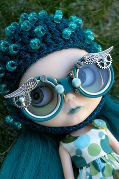 Blythe, Icarus por sglahe - Kaleidoscope Kustoms en Flickr