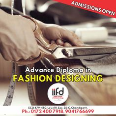 Why do we need education in Fashion?  Admission open in IIFD. Number 1 Fashion Designing institute in north India. Fill online application form @ www.iifd.in ‪#‎iifd‬ ‪#‎chandigarh‬ ‪#‎best‬ ‪#‎fashion‬ ‪#‎designing‬ ‪#‎institute‬ #chandigarh ‪#‎mohali‬ ‪#‎punjab‬ ‪#‎design‬ ‪#‎admission‬