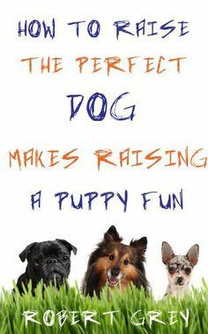 How To Raise The Perfect Dog makes raising a puppy fun by Robert Grey, http://www.amazon.com/gp/product/B007X1A7YI/ref=cm_sw_r_pi_alp_AYqXpb0TBZW26