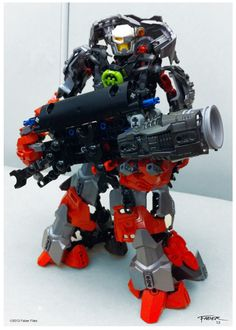 Hero Factory MOC - Faber Files Lego Robot, Lego War, Lego Duplo, Robots, Lego Mechs, Lego Bionicle, Legos, Lego Pictures, Lego Craft