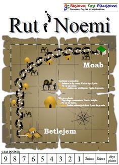 Rut i Noemi - plansza do gry